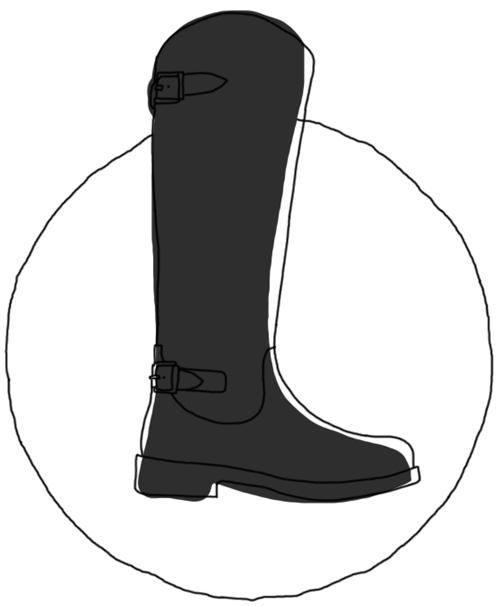 La botte cavalière, indispensable chaussure d'hiver