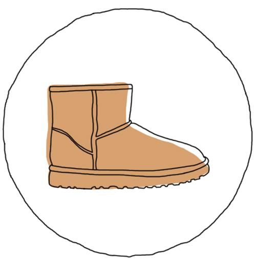 Chaussures d'hiver : la bottine fourrée UGG