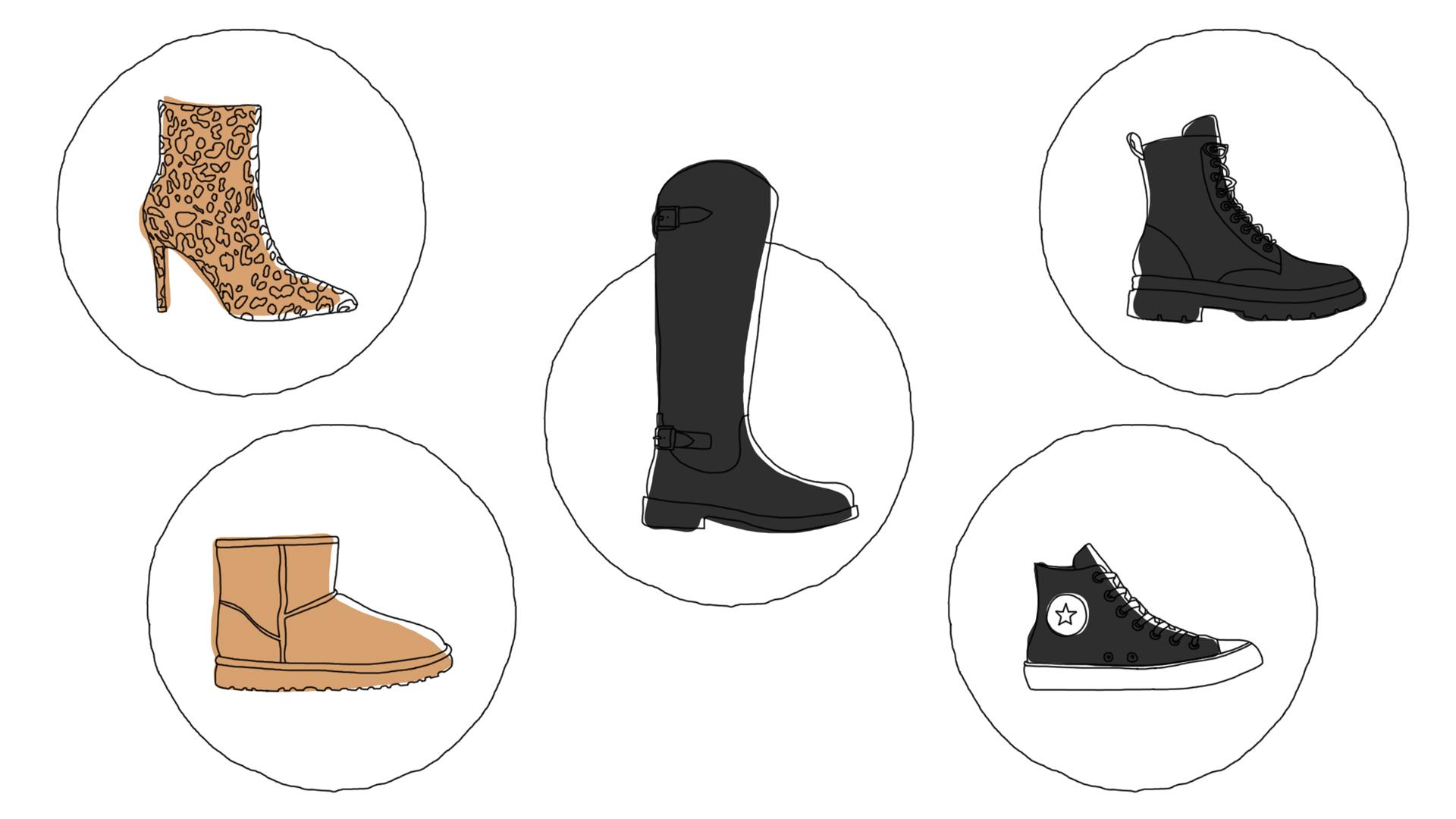 5 paires de chaussures must-have de l'hiver