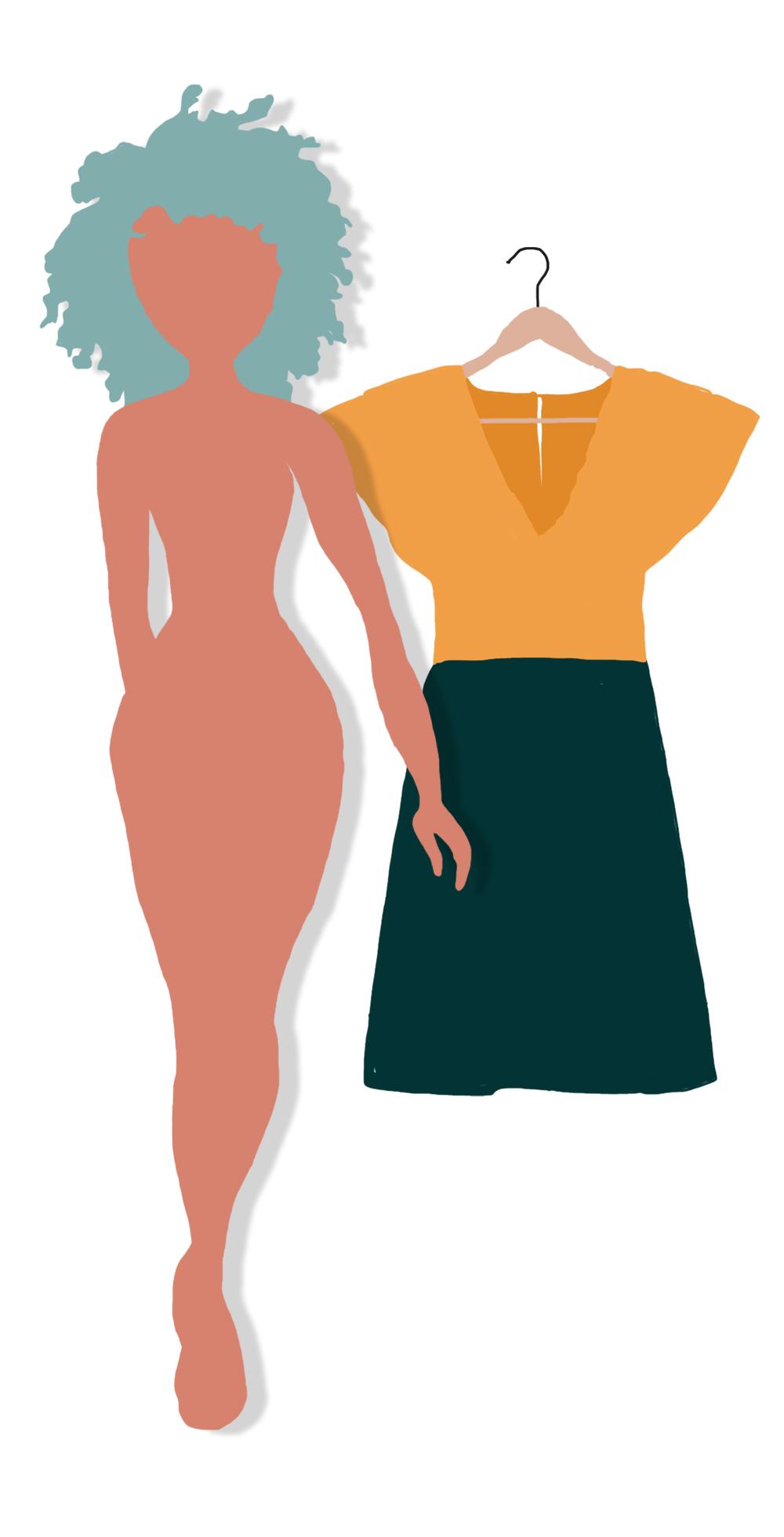 Quelle robe pour une silhouette poire ?