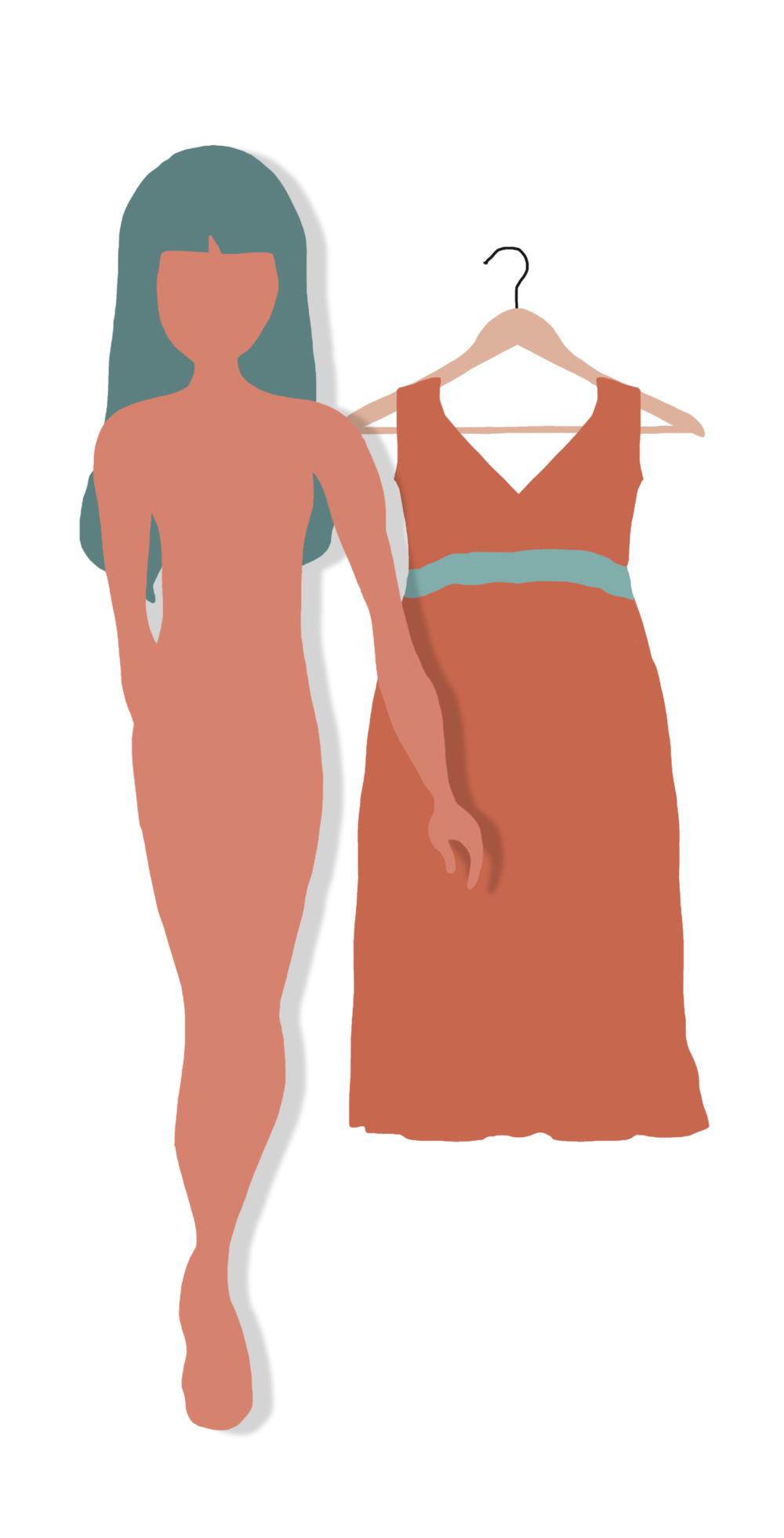 Silhouette rectangle : quelle robe d'été choisir ?